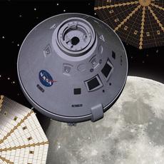 Orion Space Capsule 3D Model