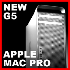 Apple Mac Pro 3D Model