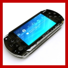 Sony PSP (3 Colors) and UMD Disc 3D Model