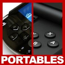 Sony PSP and Nintendo DS Lite Pack 3D Model