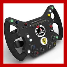 Ferrari Steering Wheel Replica 3D Model