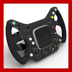 Generic F1 Steering Wheel Replica 3D Model