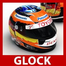 Timo Glock F1 Helmet 3D Model