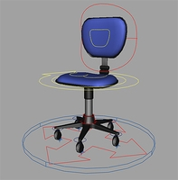 Office chair rig for Maya 1.0.0
