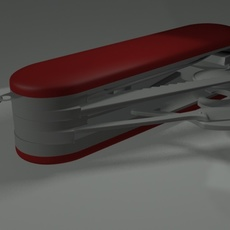 Army knife 3D Model