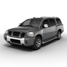 Nissan Pathfinder Armada 3D Model
