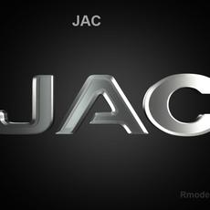 Jac 3d Logo 3D Model