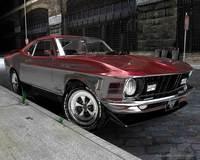 1970 Ford Mustang Mach 1 428 Super CobraJet 3D Model