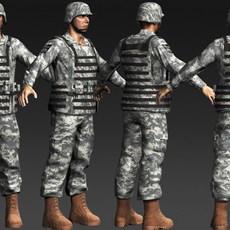 Daniel Military Cloth 3D Model