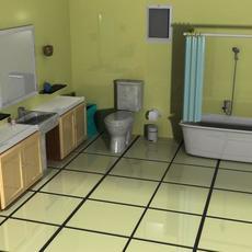 Bathroom 3D Model