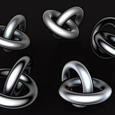 5 toony steel textures for cinema 4d