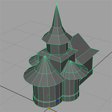 Orthodox Church 3D Model