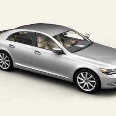 Generic Car Upper Class 3D Model