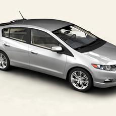Honda Insight 2010 3D Model