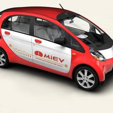 Mitsubishi i / i MIEV 3D Model