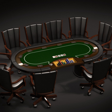 Poker Collection 3D Model