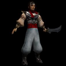 Prince Warrior for Maya 1.0.0