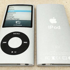 iPod Nano 4th Generation 3D Model