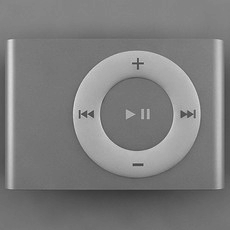 2nd Generation iPod Shuffle 3D Model