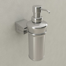 Wallmounted Soap Dispenser 3D Model