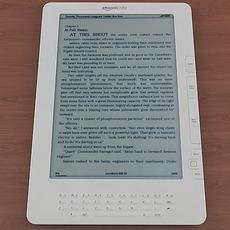 Amazon Kindle DX 3D Model