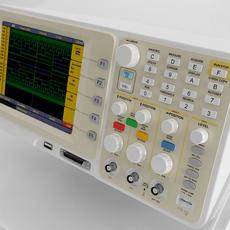 Digital Oscilloscope 3D Model