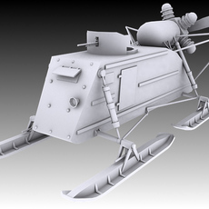 NKL-26 Aerosan 3D Model