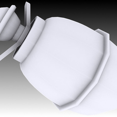 "M39 Eihandgranate ""Egg Hand Grenade"" 3D Model"