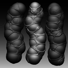 Organic Object 3D Model