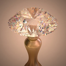 DIAMOND - ROUND BRILLIANT CUT 3D Model