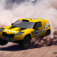 Rally-Raid Prototype 3D Model
