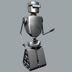 Cool Bott 3D Model