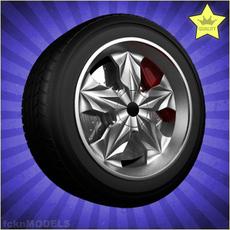 Car wheel 005 3D Model