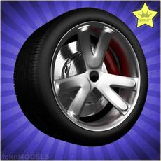 Car wheel 031 3D Model