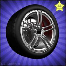 Car wheel 062 3D Model
