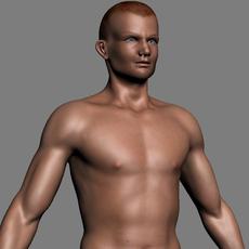 Male body 3D Model