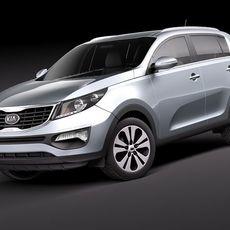 Kia Sportage 2011 3D Model