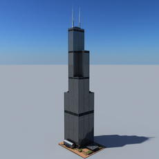 Sears Tower 3D Model