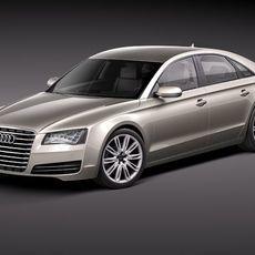 Audi A8 2011 3D Model