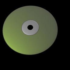 cd rom model no texture 3D Model
