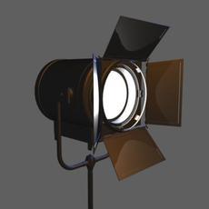 Spot light 3D Model