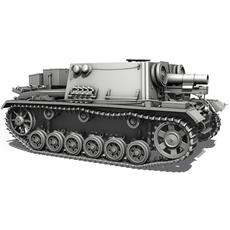 StuIG 33B (Sturm-Infanteriegeschuetz 33B) 3D Model