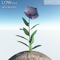 flower 020 3D Model