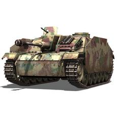 SD.KFZ 142/1 StuG III Ausf. G  3D Model
