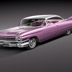 Cadillac Eldorado 62 series 1959 coupe 3D Model