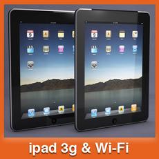 iPad 3D Model