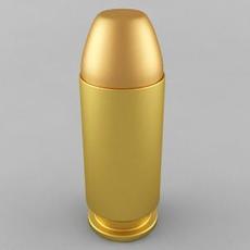 .40 S&W Cartridge 3D Model