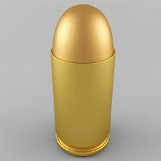 9x18 Makarov Cartridge 3D Model