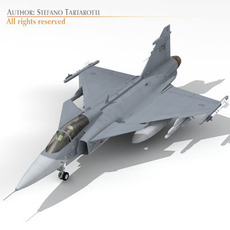 JAS 39 Gripen 3D Model