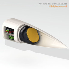 Radar Gripen 3D Model